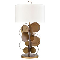 Fete 35 inch Gold Table Lamp Portable Light