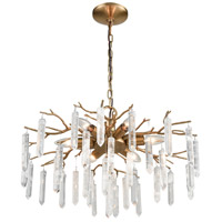 Kvist 6 Light 22 inch Coffee Bronze Chandelier Ceiling Light