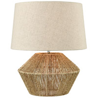 Vavda 20 inch Natural Table Lamp Portable Light
