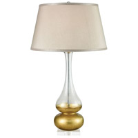 Dimond Lighting D3824 Heat Signature 30 inch 150 watt Clear with Clear Table Lamp Portable Light