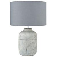 Dimond Lighting D3836 Crete 17 inch 100 watt Concrete Table Lamp Portable Light