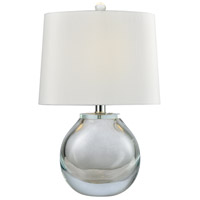 Dimond Lighting D3854CL Playa Linda 19 inch 60 watt Clear Table Lamp Portable Light