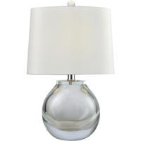 Dimond Lighting D3854CL Playa Linda 19 inch 60 watt Clear Table Lamp Portable Light