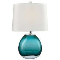 Dimond Lighting D3854GR Playa Linda 19 inch 60 watt Green Table Lamp Portable Light