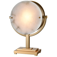 Dimond Lighting D3891 Sunset Boulevard 21 inch 40 watt Cafe Bronze with Natural Alabaster Table Lamp Portable Light