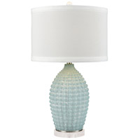 Dimond Lighting D3909 Mulaku 27 inch 150 watt Aqua Tierra Glass Table Lamp Portable Light