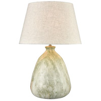 Dimond Lighting D3914 Ajaccio 27 inch 100 watt Jade Marble Table Lamp Portable Light