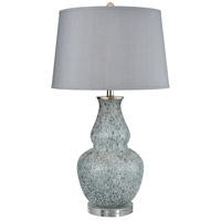 Dimond Lighting D3969 Cherie 29 inch 150 watt Blue Grey Frost Table Lamp Portable Light