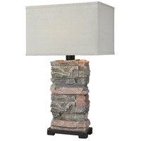 Dimond Lighting D3975 Terra Firma 30 inch 100 watt Stone Outdoor Table Lamp