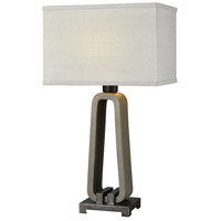 Dimond Lighting D3977 De Force 28 inch 100 watt Concrete with Bronze Outdoor Table Lamp