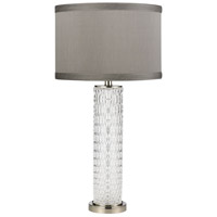 Dimond Lighting D4061 Chaufer 29 inch 150 watt Polished Nickel Table Lamp Portable Light alternative photo thumbnail