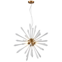 Dimond Lighting D4144 Spiritus LED 28 inch Aged Brass Pendant Ceiling Light