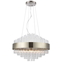 Dimond Lighting D4149 Such Teeth 11 Light 24 inch Satin Nickel Pendant Ceiling Light