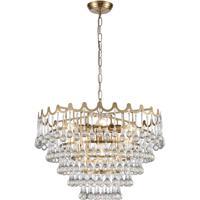 Dimond Lighting D4152 Juice 5 Light 23 inch Aged Brass Pendant Ceiling Light