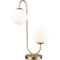 Dimond Lighting D4154 Moondance 22 inch 40 watt Aged Brass Table Lamp Portable Light