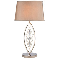Phaedra 29 inch 150 watt Polished Nickel Table Lamp Portable Light