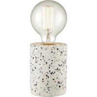 Dimond Lighting D4221 Terraz 9 inch 60 watt Grey and White Table Lamp Portable Light
