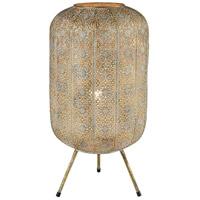 Dimond Lighting D4222 Riad 23 inch 100 watt Vintage gold Table Lamp Portable Light