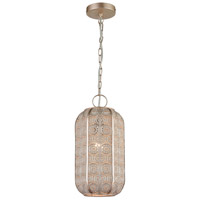 Dimond Lighting D4223 Fez 1 Light 8 inch Champagne Silver Mini Pendant Ceiling Light