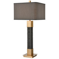 Dimond Lighting D4229 Benediction 35 inch 150 watt Black Table Lamp Portable Light