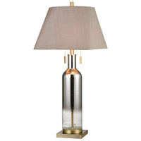 Satin Chrome Table Lamps