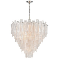 Dimond Lighting D4298 Diplomat 21 Light 32 inch Chrome Staggered Chandelier Ceiling Light, Large