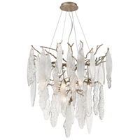 Dimond Lighting D4299 The Shrub Down LED 32 inch Clear/Antique Silver Chandelier Ceiling Light
