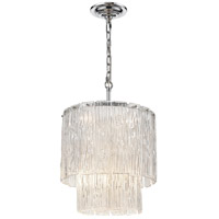 Dimond Lighting D4301 Diplomat 8 Light 16 inch Clear/Chrome Chandelier Ceiling Light, Small