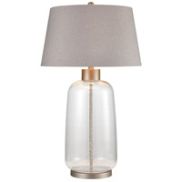 Pewter Glass Table Lamps