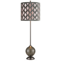 Dimond Lighting D4320 Dalio 41 inch 150 watt Pewter Table Lamp Portable Light photo thumbnail