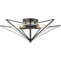 Dimond Lighting D4386 Moravian Star 5 Light 21 inch Oil Rubbed Bronze Flush Mount Ceiling Light Large
