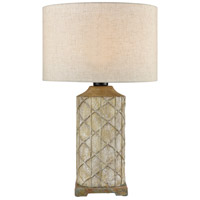 Dimond Lighting D4388 Sloan 25 inch 100 watt Brown/Grey/Antique White Outdoor Table Lamp