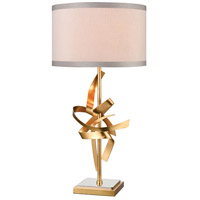 Nickel and Gold Table Lamps