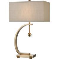 Dimond Lighting D4511 Straight Loop 30 inch 150 watt Cafe Bronze Table Lamp Portable Light