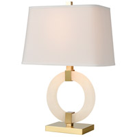 Dimond Lighting D4523 Envrion 23 inch 100 watt Honey Brass Table Lamp Portable Light