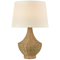 Dimond Lighting D4545 Rafiq 22 inch 100 watt Natural Rattan Outdoor Table Lamp