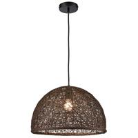Dimond Lighting D4557 Casing 1 Light 17 inch Brown Pendant Ceiling Light