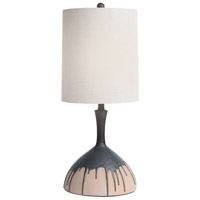 Dimond Lighting D4632 Halley 28 inch 150 watt Baked Earth / Bronze Metallic Glaze Table Lamp Portable Light
