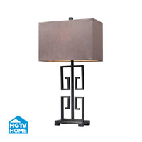 Dimond Lighting HGTV Home Greek Key Lamp Large in Dark Bronze HGTV139