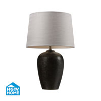 Dimond Lighting HGTV Home Ceramic Table Lamp in Freeport Bronze HGTV161