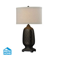 Dimond Lighting HGTV Home 1 Light Table Lamp in Aria Bronze HGTV225