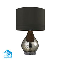 Dimond Lighting HGTV Home 1 Light Table Lamp in Gold Mercury Plated HGTV244