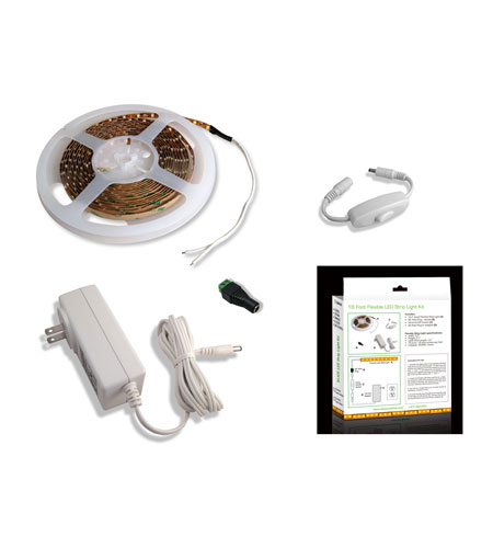 Diode LED Fluid View 16.4 ft. Flexible LED Strip Light Kit in Cool White DI-0188 photo