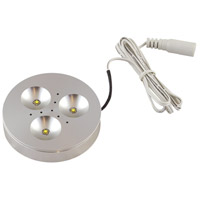 Diode LED DI-0333-SA Signature 12V LED Aluminum Satin Puck Light