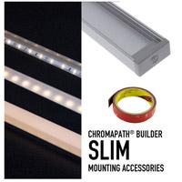 Diode LED DI-CPEC-SLPDW Chromapath White End Cap Premium Diffusion