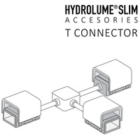 Hydrolume White T Connector