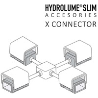 Hydrolume White X Connector