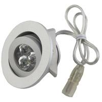 Diode LED DI-SPOT-RG50-45-BA Signature Brushed Aluminum Mini Recessed