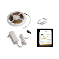 Diode LED Fluid View 16.4 ft. Flexible LED Strip Light Kit in Warm White DI-0187 photo thumbnail