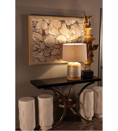 Dimond Home 1114-196 Beacon Towers 49 X 15 inch Gold Plate Console Table 1114-196_rm1.jpg